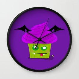 Creepy Cake Wall Clock
