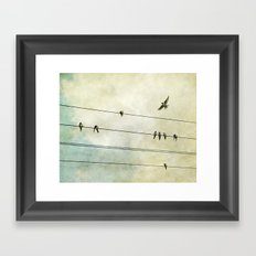 Spread My Wings And Fly Framed Art Print
