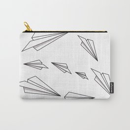 Paper Airplanes Carry-All Pouch