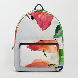 Flowers in the vase Backpack