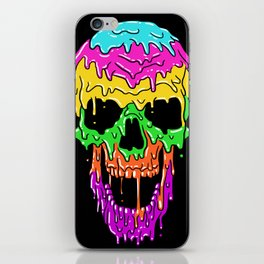Summer Skull iPhone Skin