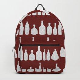 Bottles Red Backpack
