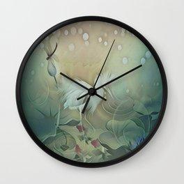 Haven of Solitude Wall Clock