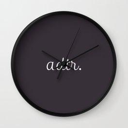 ADTR Simple Script Wall Clock