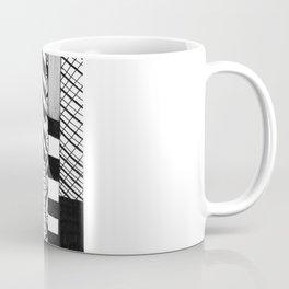 Mono Geo Lines Coffee Mug