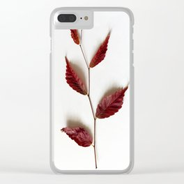 Twig of Autumn Clear iPhone Case