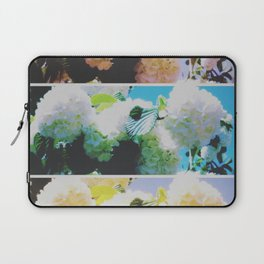 Faded Snowball Branch Collage (II) Laptop Sleeve