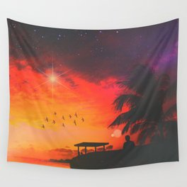 Peace & Quiet Wall Tapestry