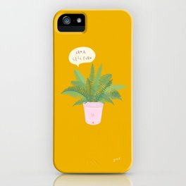 Ermagerd A Cell Fern iPhone Case