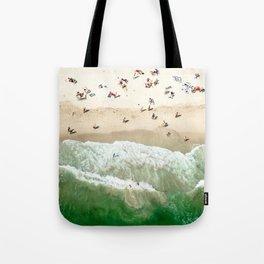 miami beach coastline Tote Bag