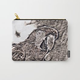 Rustic Style - Parrot Carry-All Pouch