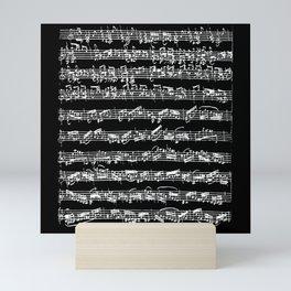 Bach Chaconne Solo Partita Violin Mini Art Print
