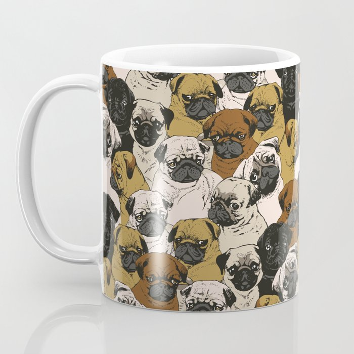 Social Pugz Coffee Mug