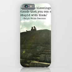 Stupidity and Old Friends  Slim Case iPhone 6s