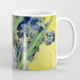 "Vincent Van Gogh ""Still Life with Irises"" Coffee Mug"