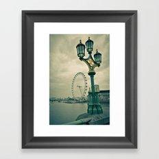 View of the London Eye Framed Art Print