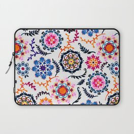 Happy Color Suzani Inspired Pattern Laptop Sleeve