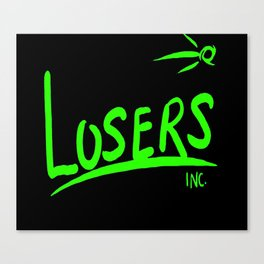 OnBLK Losers Inc. II Canvas Print