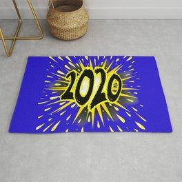 2020 Cartoon Explosion Rug