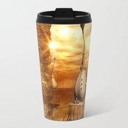 Funny orca Travel Mug