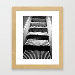 escalator of Macy's NYC Framed Art Print