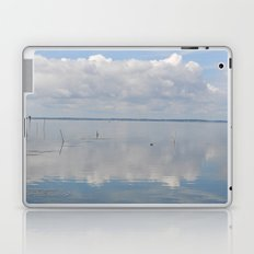 Picture Perfect Blue Sky Water Bay Scene Landscape  Laptop & iPad Skin
