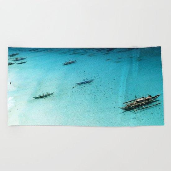 White Beach Boracay Beach Towel