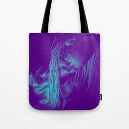 Subdued, teal Tote Bag