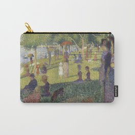 """Study for """"A Sunday on La Grande Jatte"""" Carry-All Pouch"""