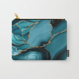 Iceberg Marble Carry-All Pouch