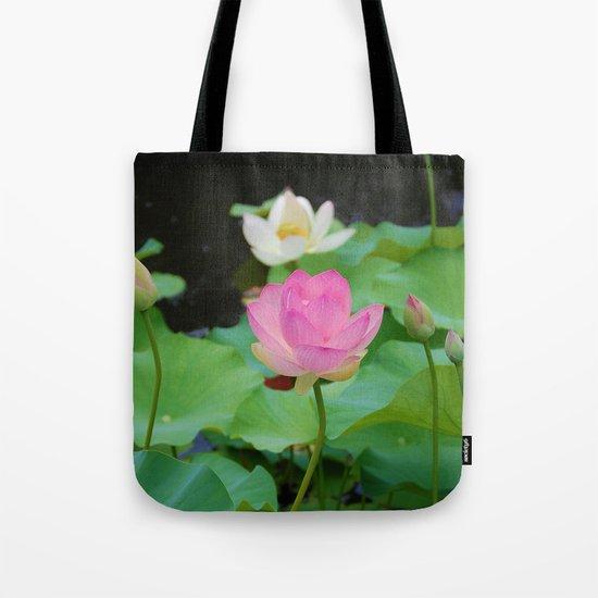 Lotus Blossom Flower 25 Tote Bag