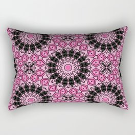 Pink Mandela  Rectangular Pillow