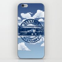 aviation iPhone & iPod Skins featuring Retro Aviation Art by MacDonald Creative Studios