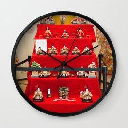 Hinamatsuri Wall Clock