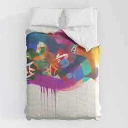 """""""Lost in Congestion"""" - signed Comforters"""