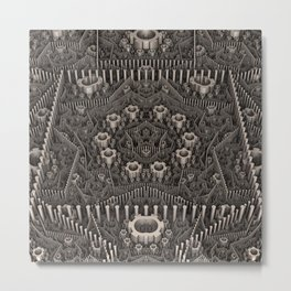 Art Machine Metal Print
