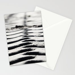 Traces in the sand 3 Stationery Cards