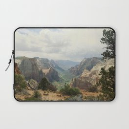 Above Zion Canyon Laptop Sleeve