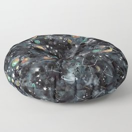 Cosmic Universe Floor Pillow