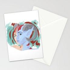 Demon' Gaze Stationery Cards