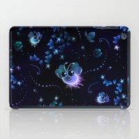 fireflies iPad Cases featuring Fireflies by murals2go!