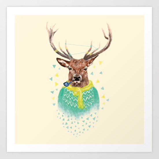 Wonder Deer Art Print