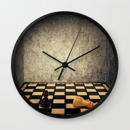 chess room limitations Wall Clock