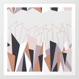 Triangle Play Landscape 1 Art Print