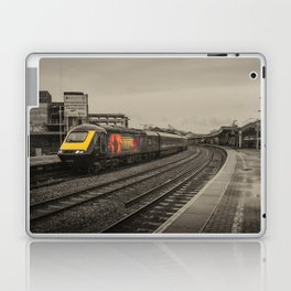 Harry Patch at Bristol Temple Meads Laptop & iPad Skin