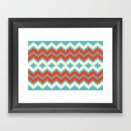 Ikat Framed Art Print