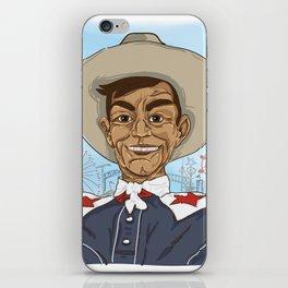 Howdy Folks iPhone Skin