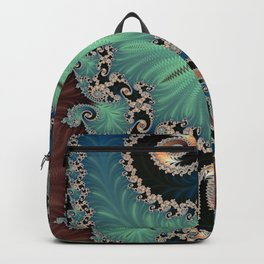 Azure - Fractal Art Backpack