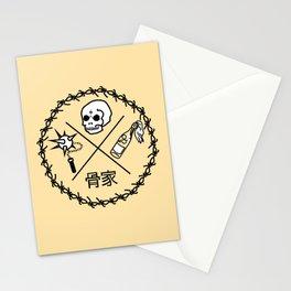 Bone House Orange (Hone Le) Stationery Cards