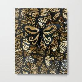 Swarm of the Butterflies Metal Print